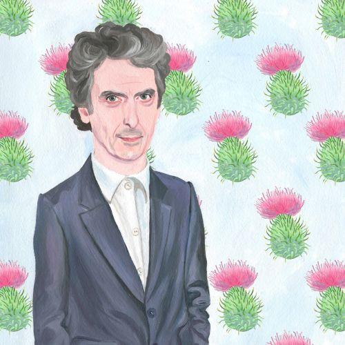 Portrait of Peter Capaldi