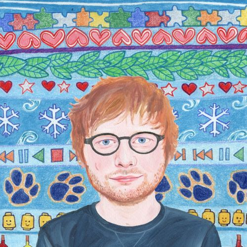Portrait of Singer/Songwriter Ed Sheeran
