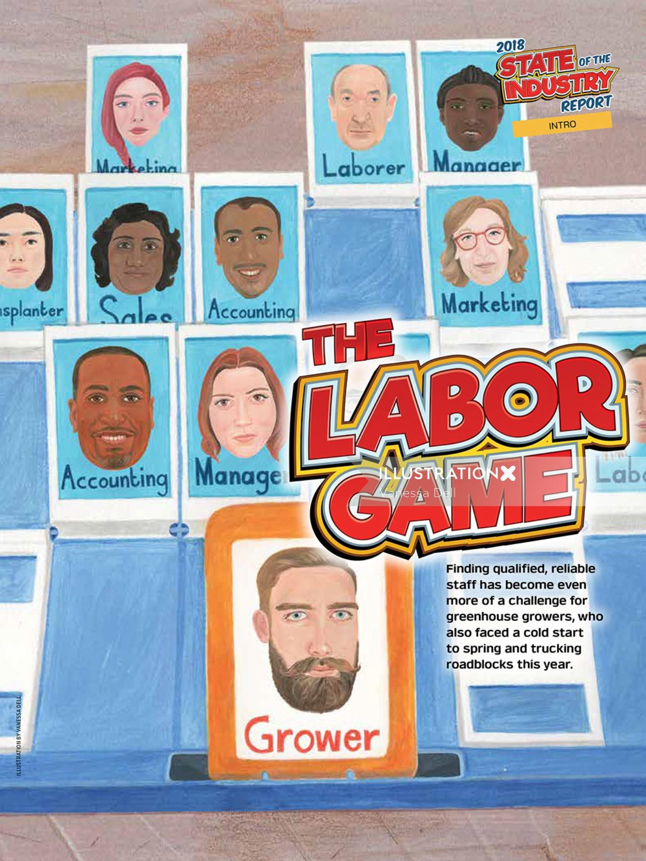 Lettering The Labor Game