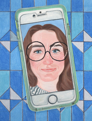 Selfie Self-Portrait