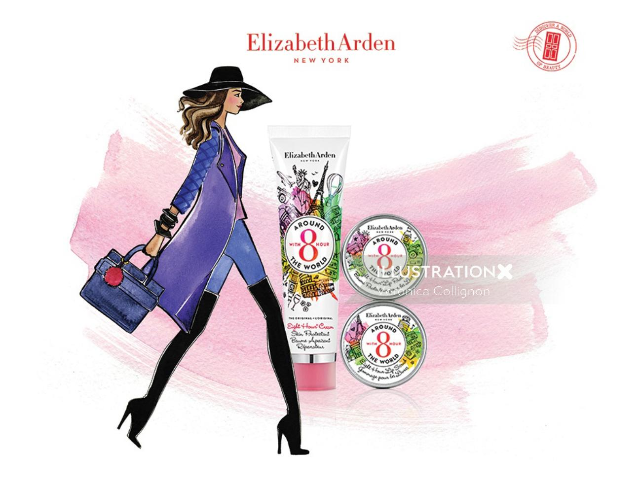Illustration for Elizabeth arden 8 hour cream