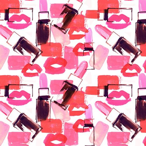 Pattern Design For Clinique Gift Bag
