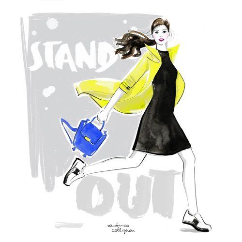 Veronica Collignon Fashion and Portrait Illustrator. New York