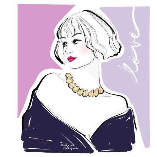 Veronica Collignon Beauty Illustrator from USA