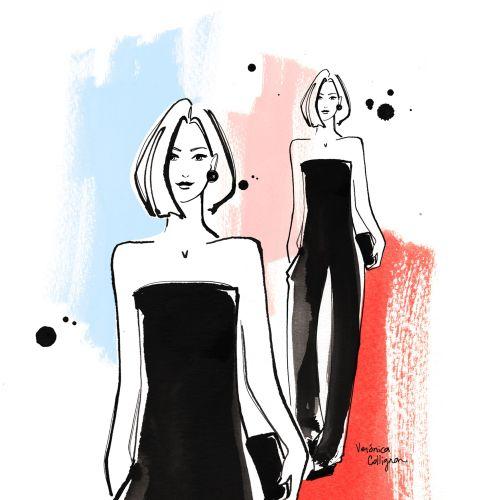 Veronica Collignon Ilustrador de moda y retrato. Nueva York
