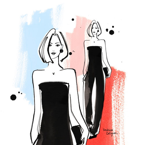 Loose art fashion walk