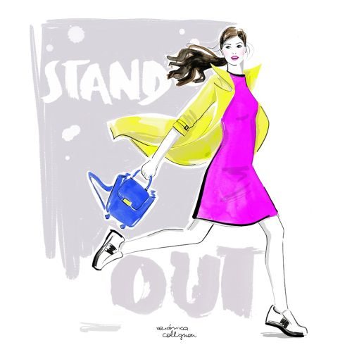 Veronica Collignon Fashion and Portrait Illustrator. New York