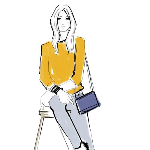 Veronica Collignon Illustratrice de mode et de portrait. New York
