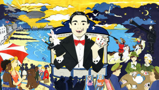 seaside, holiday, 2nd world war, 1st world war, evacuees, poodle, night, planes, history, magician