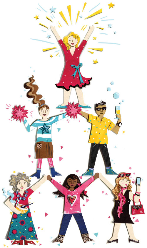 mulheres, bonecas de papel, líderes de torcida, emagrecimento, saúde, moda, selfie, vinho, dieta