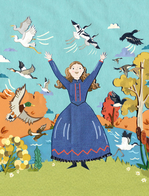 rspb, birds, ducks, victorian, pond, autumn, grebe, nature, wildlife, heron, trees, history