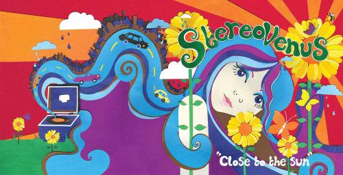 Ilustração para o álbum da banda Stereovenus