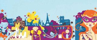 eating, paris, city.dessert, cake, mask, wine, stars, champagne,