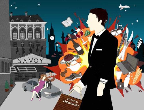 James Bond, Londres, Comida, Compras, Savoy, Luxo, Bife