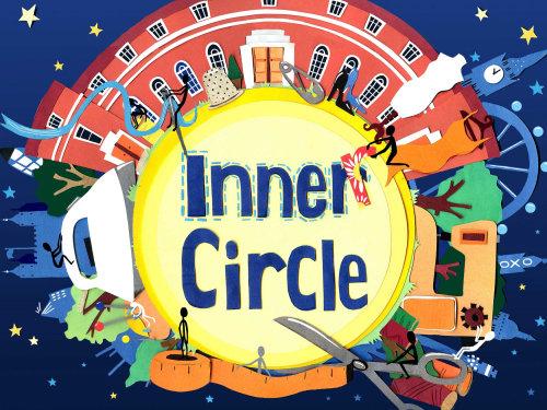 círculo interno Design gráfico