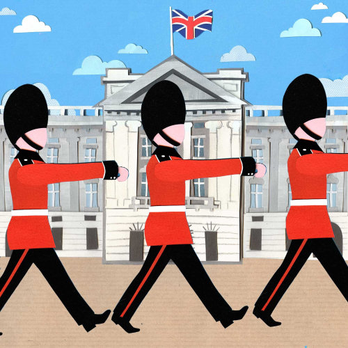 british security forces illustration by Vicky Scott