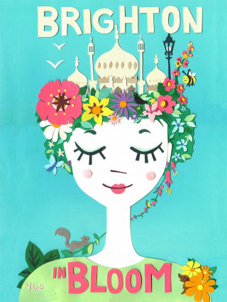 Georgian ladies illustration by Vicky Scott