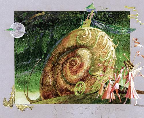 Midsummer Nights dream fantasy art, Pan Press