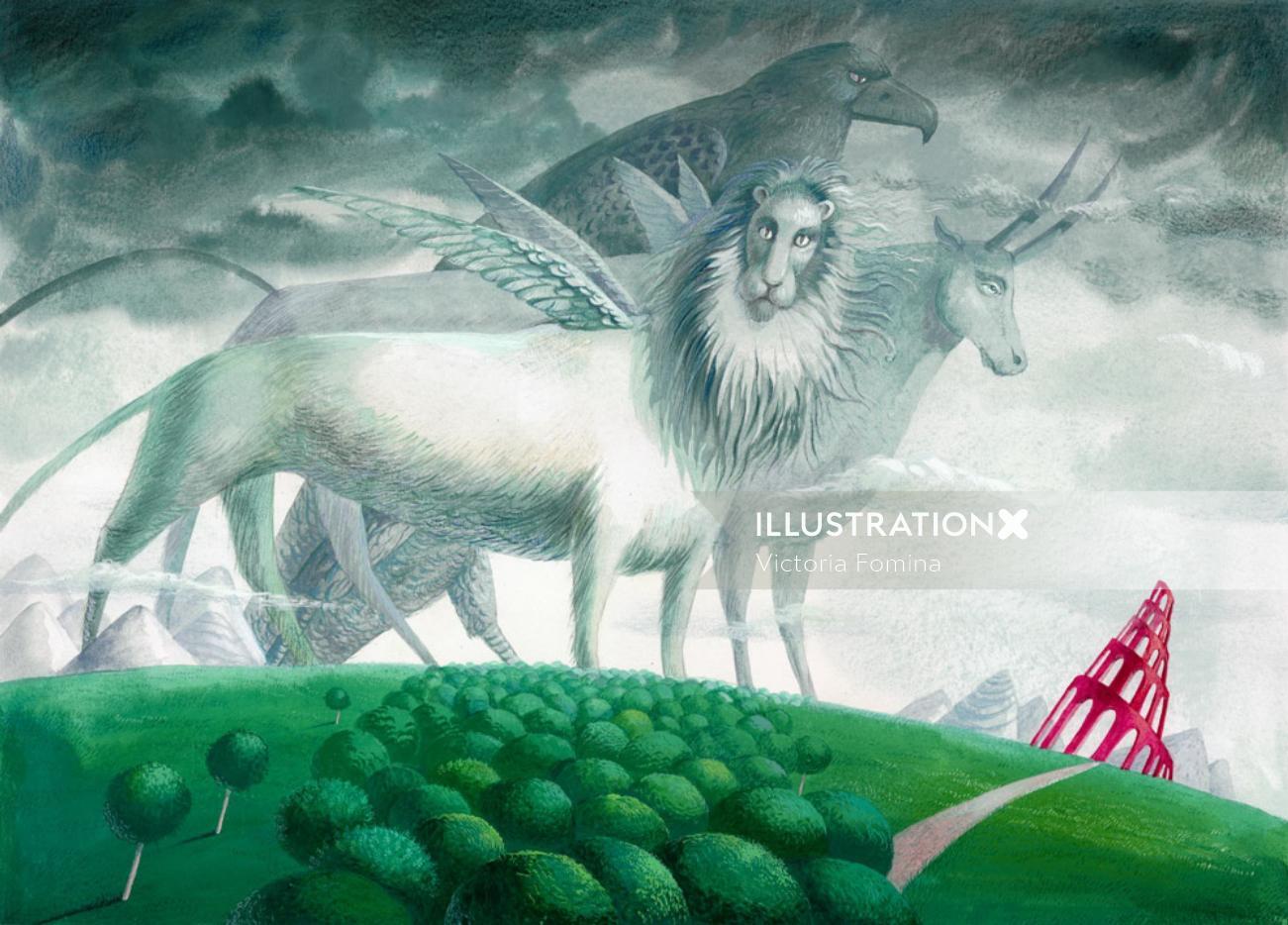Conceptual art of Bible For Children