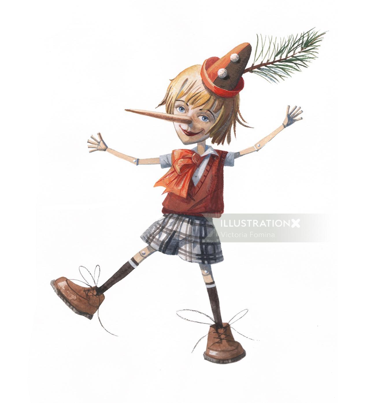 Character design for children book