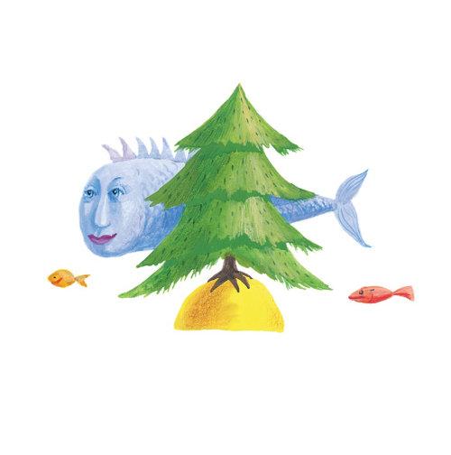 Watercolour children's book Nursery Rhymes