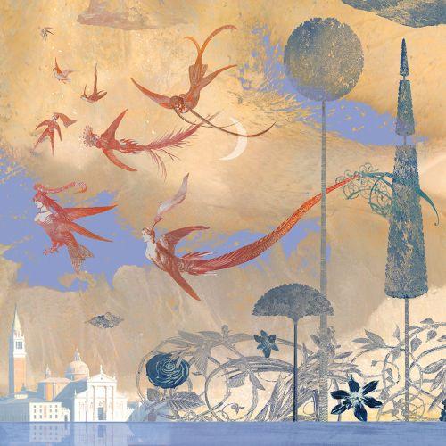 Color pencil art pf Alice in Wonderland