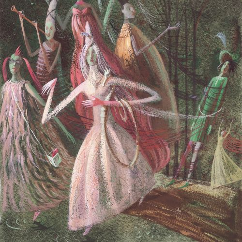 painting of music show