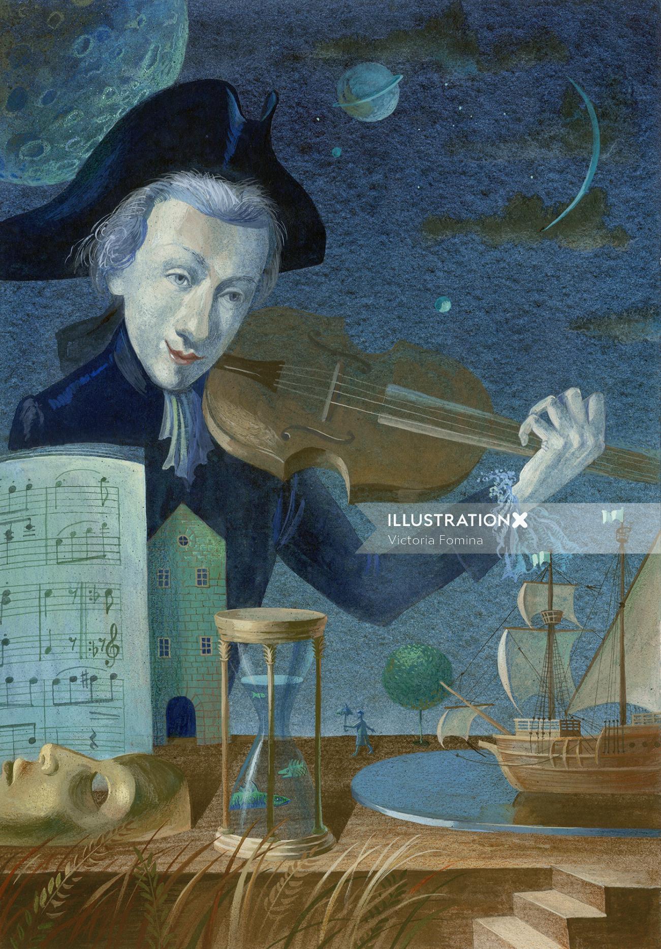 Grimm Press Historic Mozart