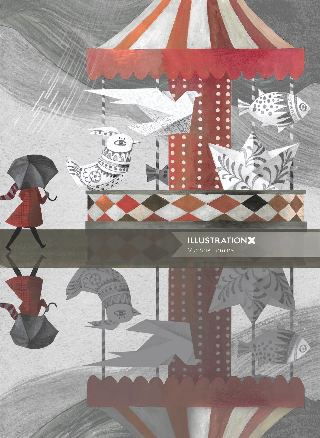 Illustration for Brio Magazine by Victoria Fomina