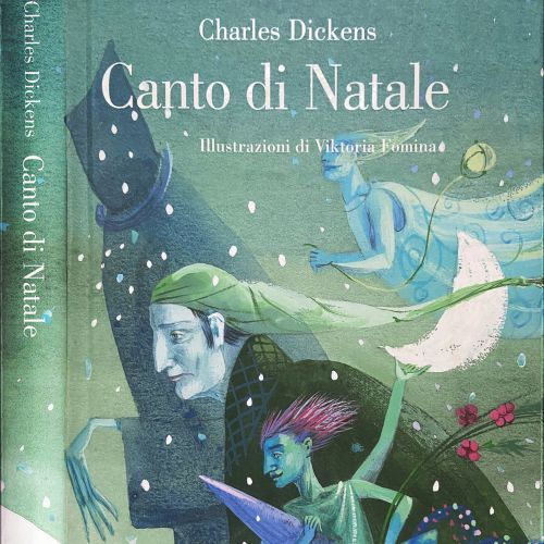 Canto di Natale book cover design
