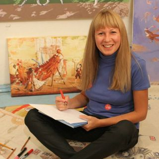 Victoria Fomina's Photo - Leading storybook illustrator based in Russia