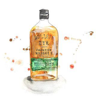 Illustration of a bottle