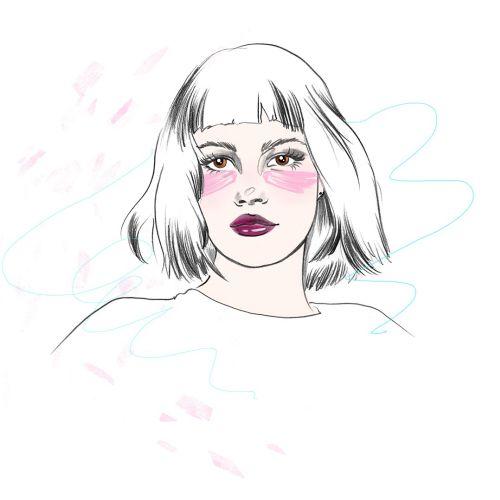 Victoria Skovran Beauty Illustrator from USA