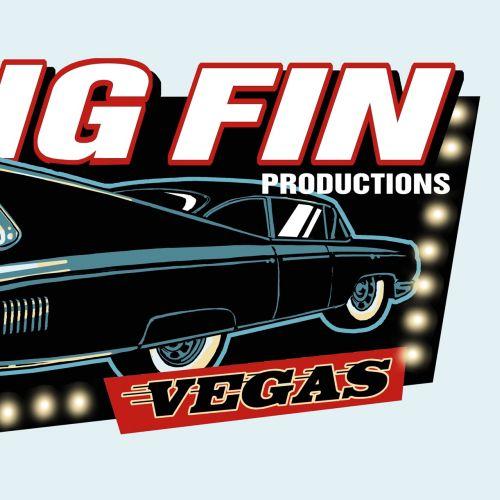 Big Fin Productions poster design