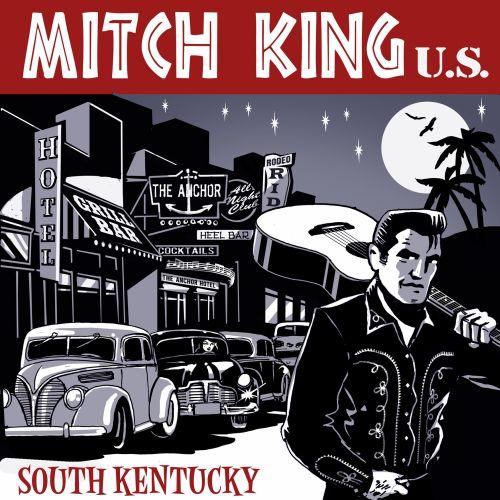 Mitch King u.s retro illustration
