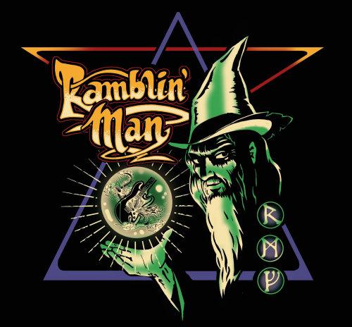 Character design of ramblin man