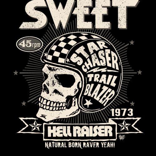 Poster design of hell raiser