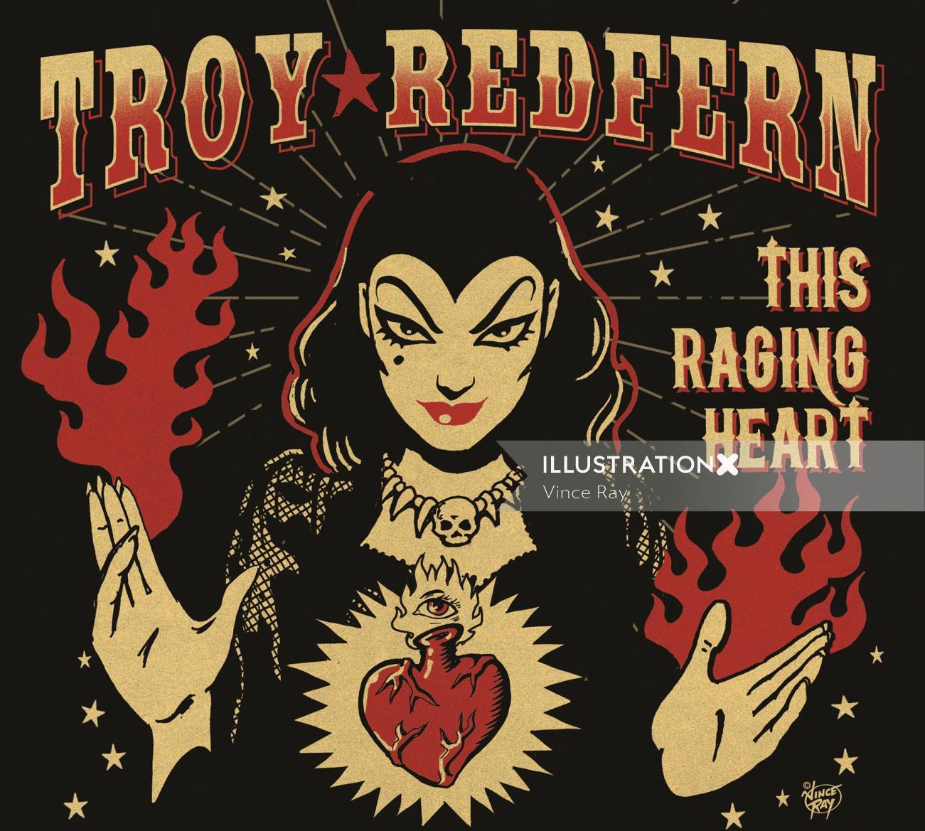Poster design of Troy Redfern