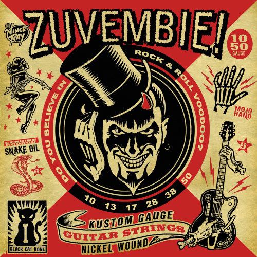 Zuvembie poster illustration