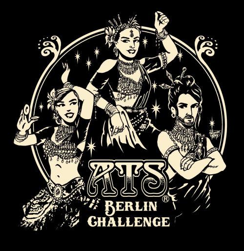 Ilustração do pôster do programa de dança Ats
