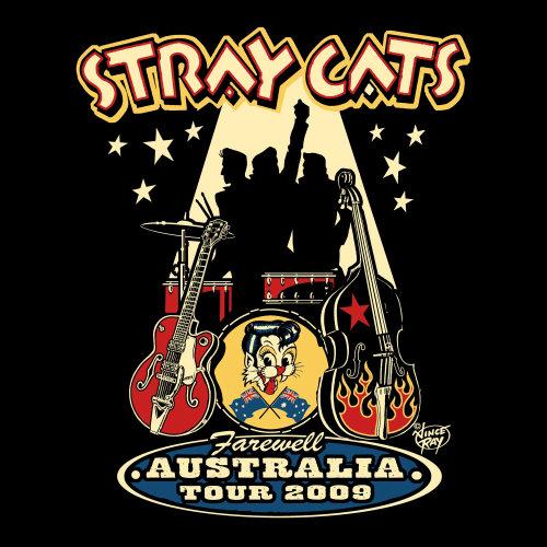 Groupe de musique Stray Cats