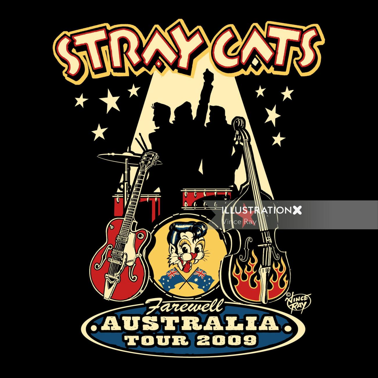 Stray Cats Music band