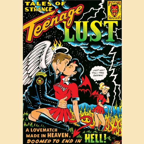 Illustration for teenage lust by Vince Ray