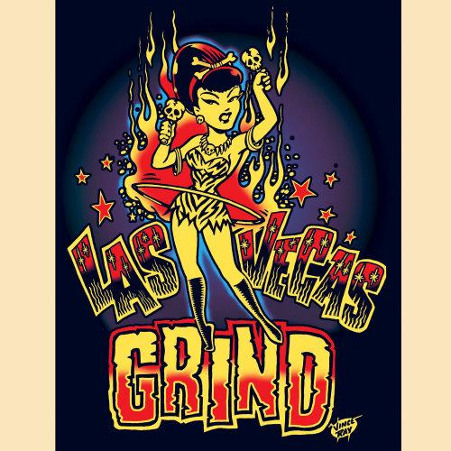 Garota de entretenimento de Las Vegas