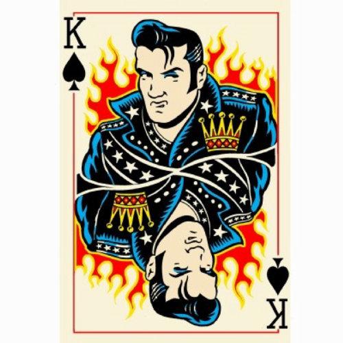 Rei jogando cartas