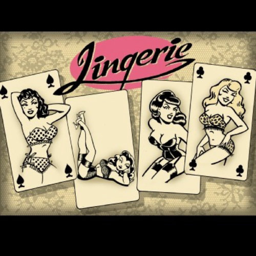 Mulheres bonitas em Lingerie