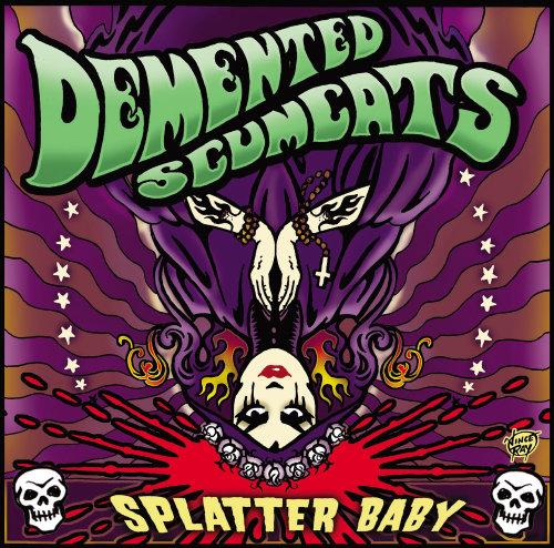 Character  design of splatter baby