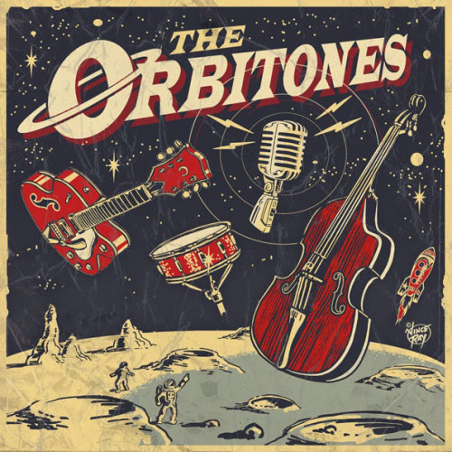 The orbitones lettering art