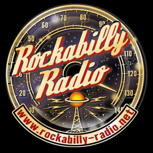 Design de pôster de rádio Rockabilly por Vince Ray