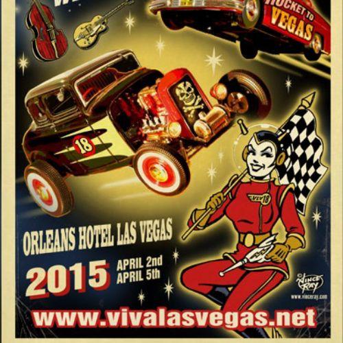 Poster design of viva las Vegas